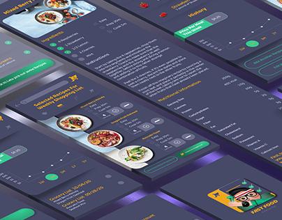 Fast Food (Responsive Recipe App)