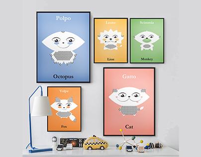 Animalia - Posters for kids