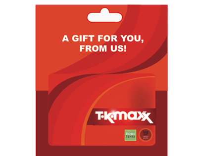 TKMAXX Gift Card Design Competition