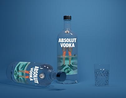Absolut Vodka concept art