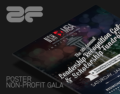 Poster: Non-Profit Gala