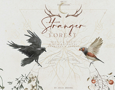 Stranger Forest Collection by Julia Dreams