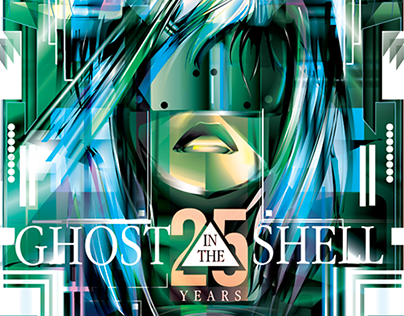 GHOST in the SHELL- Vector Tribute