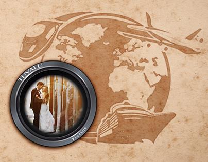 Tuvalu Wedding-Travel/Wedding Agency-Logo & Web Site