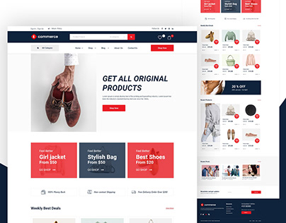 shopify | E-commerce website design