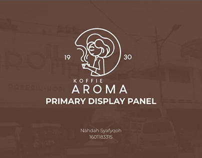 Redesign Logo and Packaging Aroma Koffie
