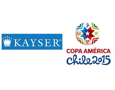 Guiones Kayser Copa América Chile 2015