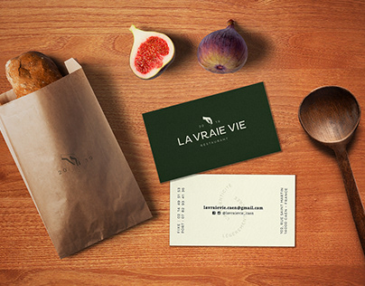 LA VRAIE VIE - Restaurant Branding