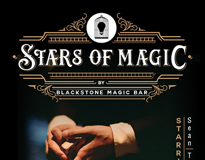 Posters and prints for Blackstone Magic Bar-2017