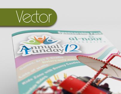Brochure concept (Inkscape, Blender)