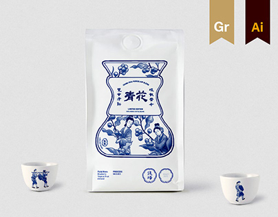 Taste of Chinese Art | Coffee Visual Identity Design