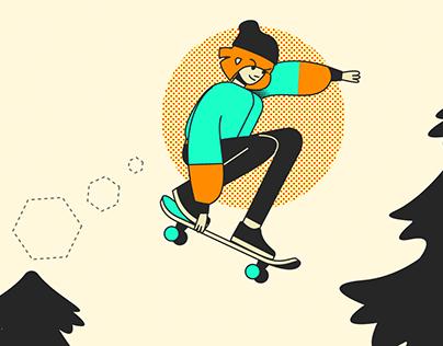 Pro Skater - Animation