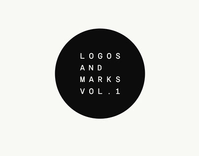 Logos and marks vol. 1