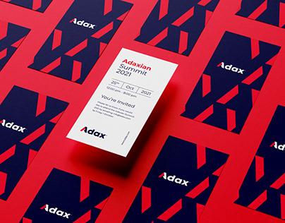 Adax Tech - Rebranding & Webdesign