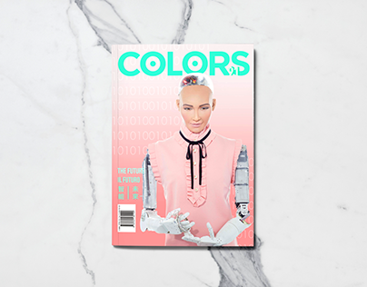 Colors Magazine Cover Design - The Future