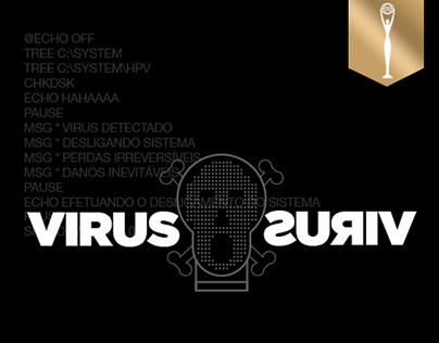 Virus X Virus - Gold Clio Awards 2016