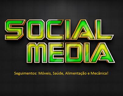 Social Media - Móveis, Saúde, alimentação e meânica.