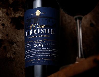 Burmester | Wine Packaging Design