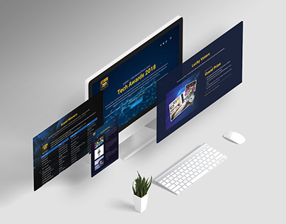 Tech Awards 2018 Microsite