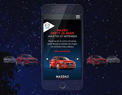 Mazda Belgium campaign site