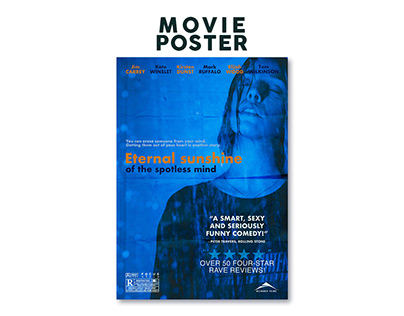 Movie Poster - Eternal sunshine of the spotless mind