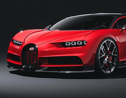 Bugatti Chiron CGI