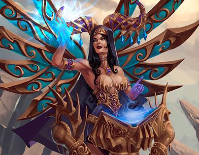 diosa de los sueños (personal work)