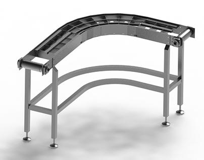 3D modeling conveyer SolidWorks