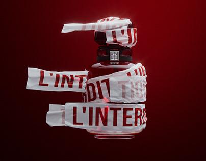 Givenchy | L'Interdit 3D Animation
