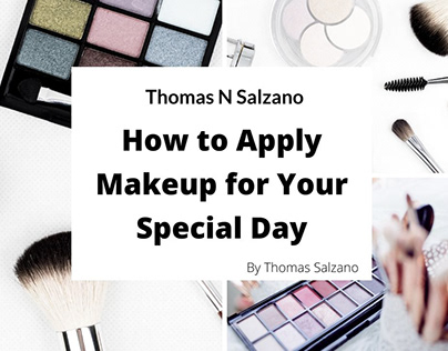 How to Apply Makeup for Your Special Day