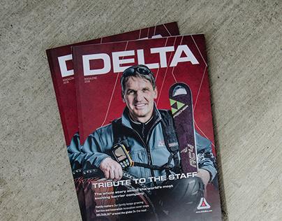 Delta Bloc | Editorial Design