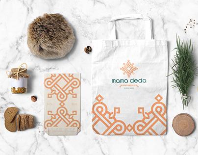 Mama Deda Georgian Restaurant Logo & Branding Design
