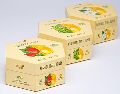 Honey & Herb Packaging