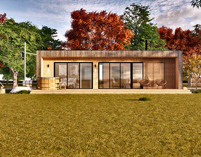 country style house on 75m2
