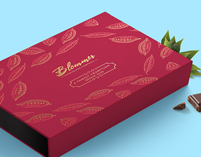 Blommer Chocolate Gift Box & Chocolate Bar Packaging