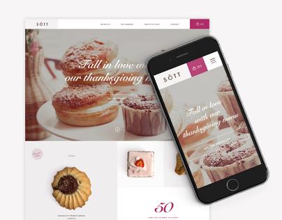 Sött bakery concept design