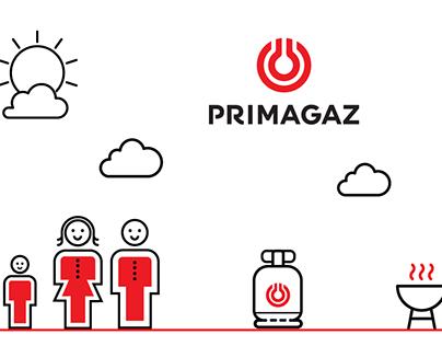 PRIMAGAZ Video Animation