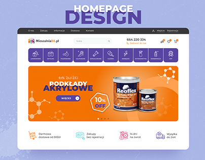E-commerce Website & Mobile | Homepage
