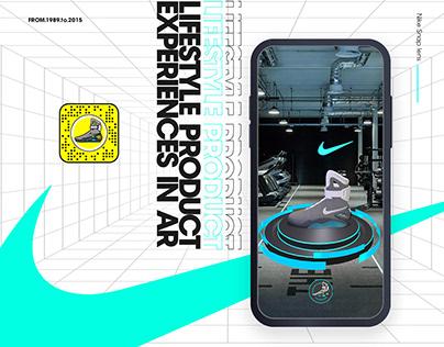 Nike MAG Augmented Reality Snapchat Lens