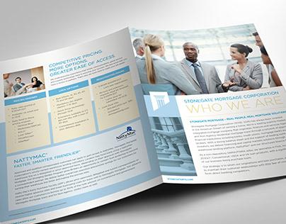 Stonegate Mortgage Marketing Brochure   TPO Division