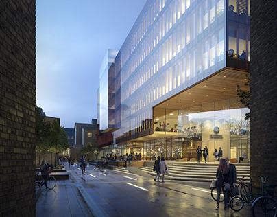 Winning design proposal Sahlgrenska Life Science Center
