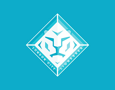 London City Lionesses branding by HeyBigMan!