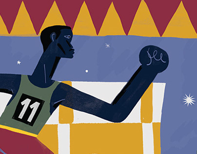 Illustrations for Il Foglio Sportivo Magazine