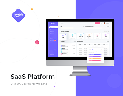 Bookit me SaaS Platform