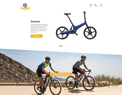 Roar Bikes Website