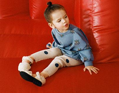 ZARA BABY GIRL AW21 - Dot leggings