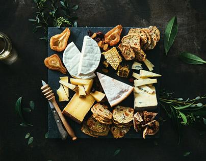 AU GRÉ DES CHAMPS, Plateaux de fromages