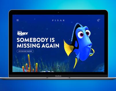 Pixar.com redesign