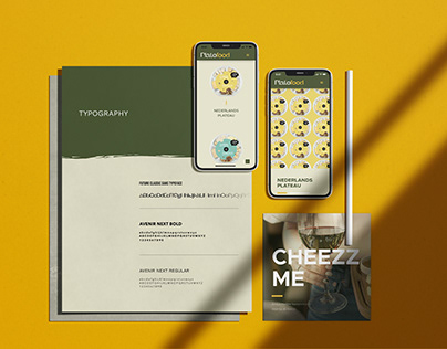 Plato Food - UX/UI design and Brand Style guide