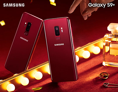 Galaxy S9+ Red Social Campaign